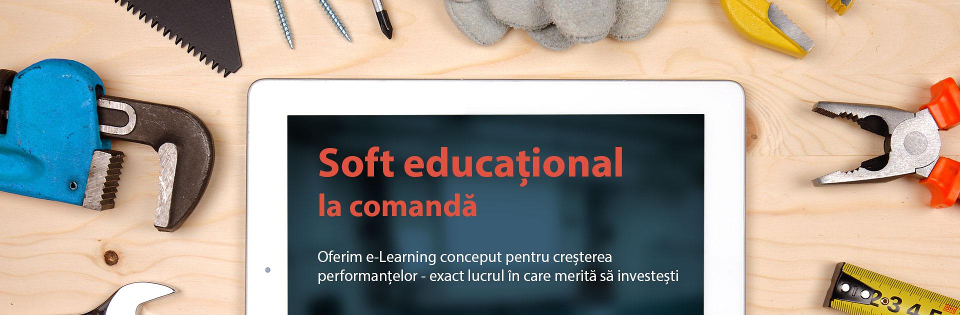 Software educaţional la comandă
